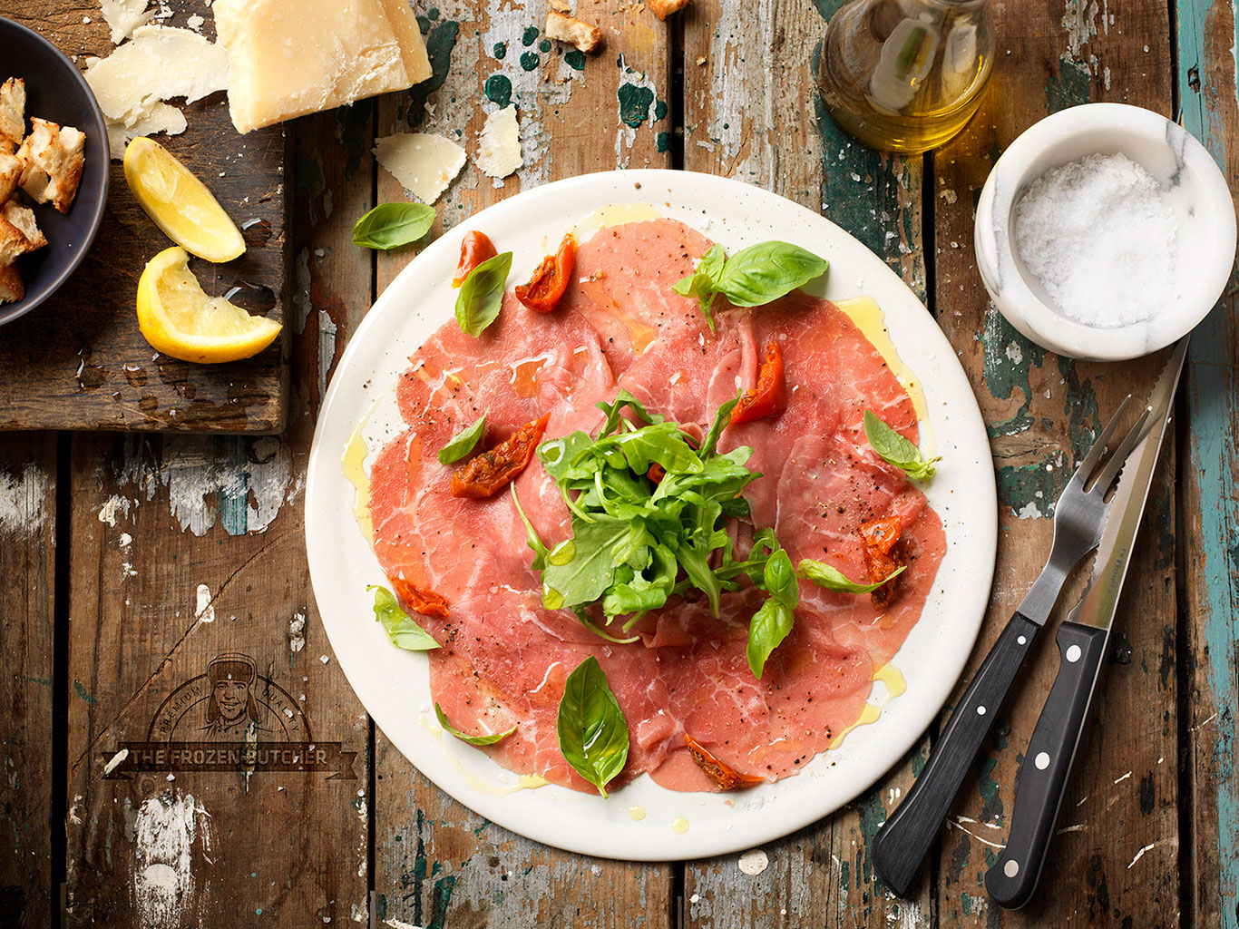 Angus Beef Carpaccio - The Frozen Butcher