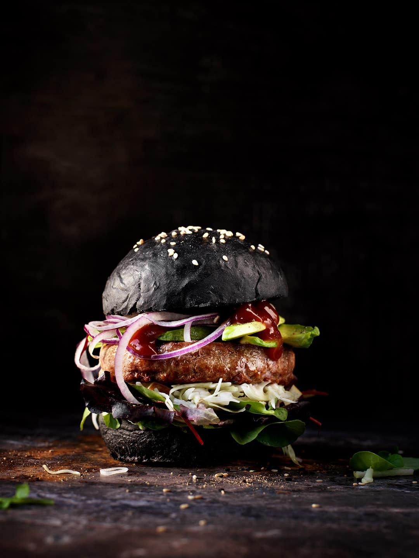 Iberico Charcoal burger
