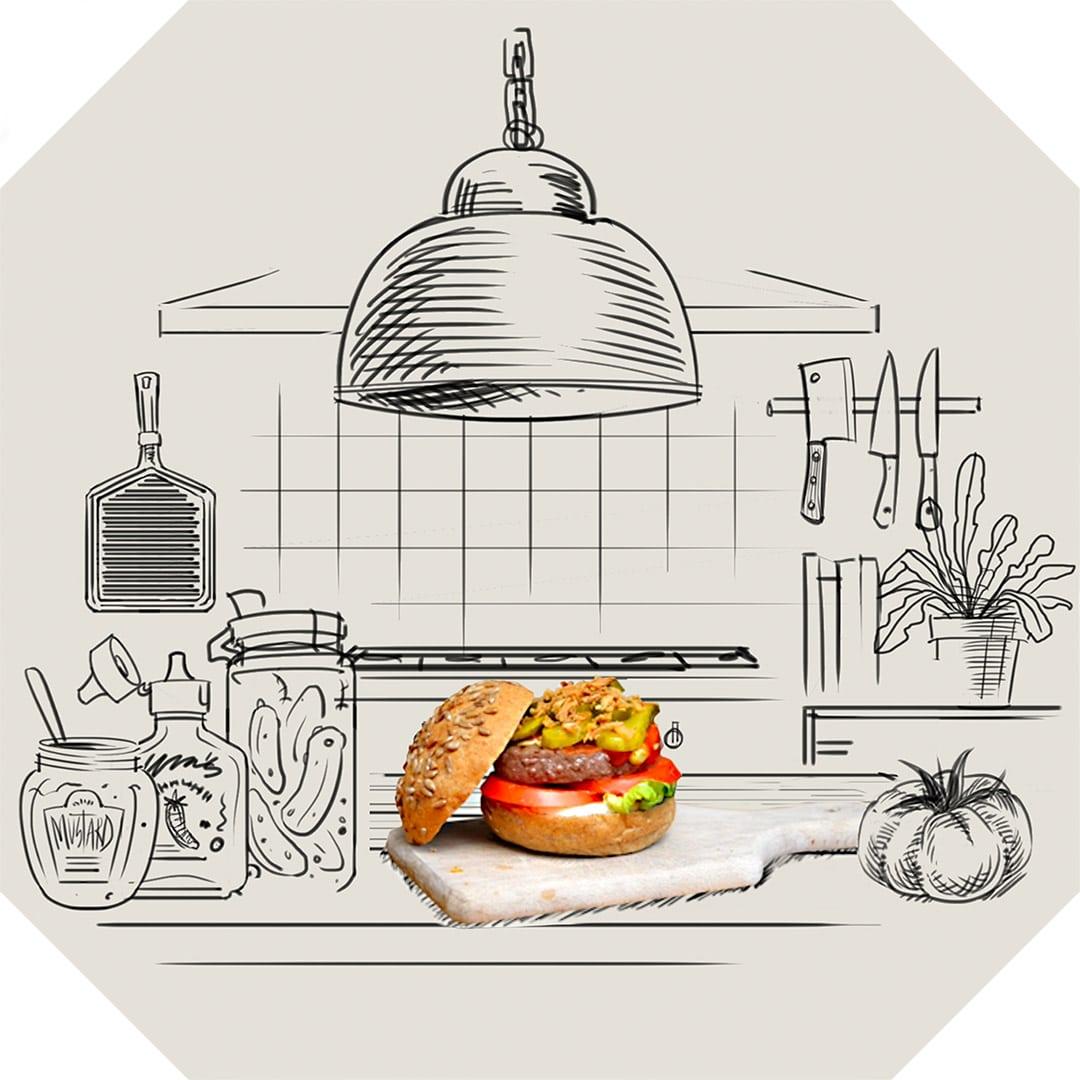 Honest Organic Burger
