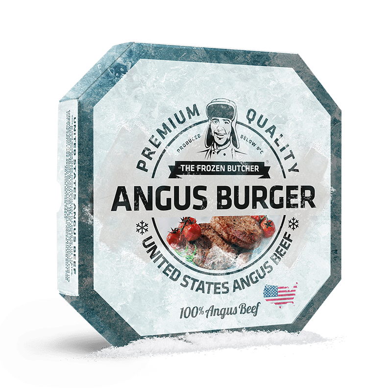 The Frozen Butcher Angus Burger