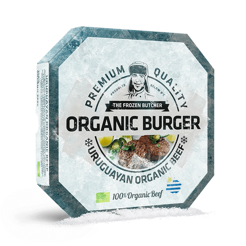 The Frozen Butcher Organic Burger