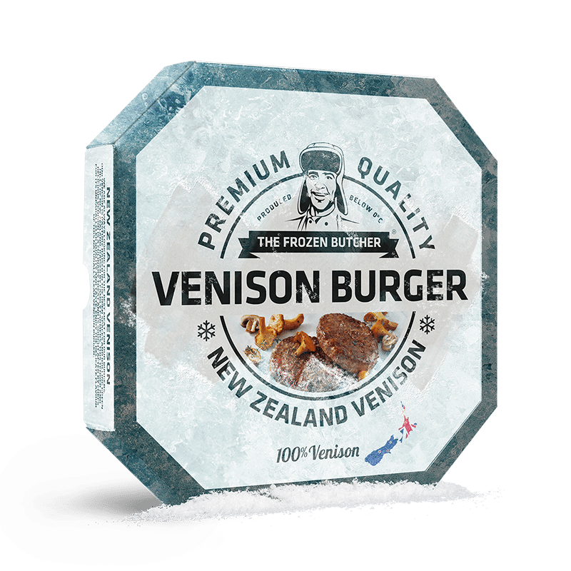 The Frozen Butcher Venison Burger