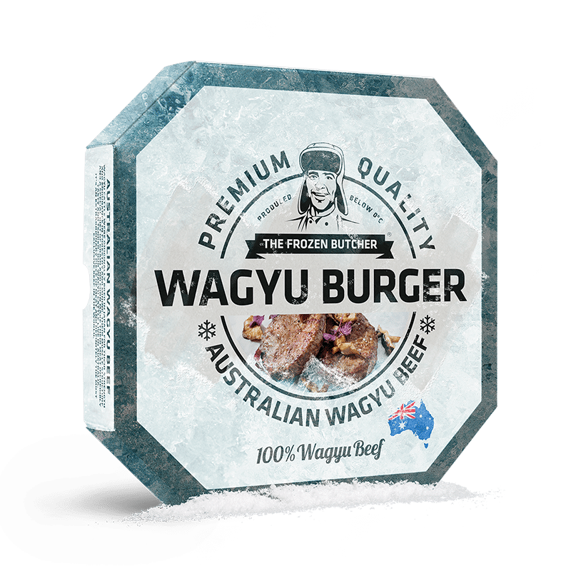 The Frozen Butcher Wagyu Burger