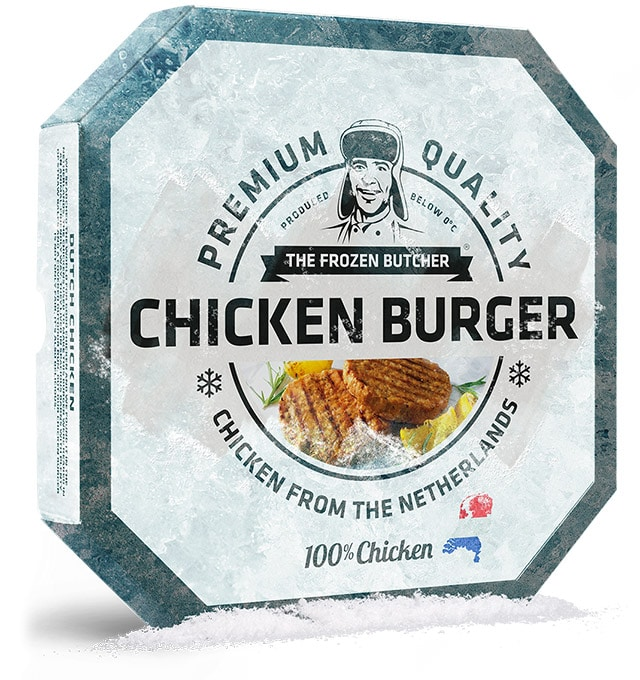 Chicken Burger - The Frozen Butcher