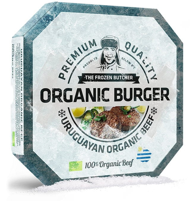 Organic Burger - The Frozen Butcher
