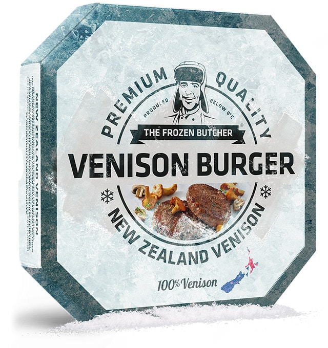 Venison Burger - The Frozen Butcher
