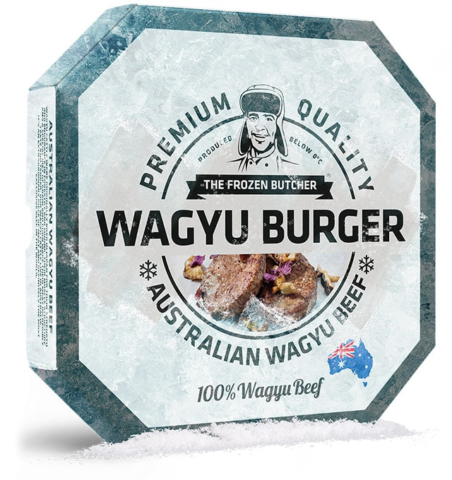 Wagyu Burger - The Frozen Butcher