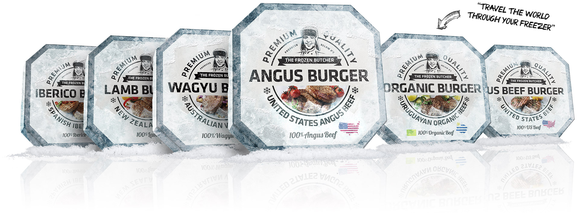 The Frozen Butcher Product Range